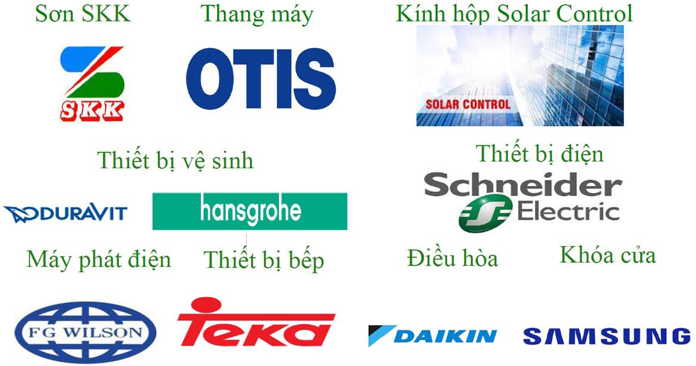 Danh mục nội thất bàn giao căn hộ Eco Green Sài Gòn Quận 7