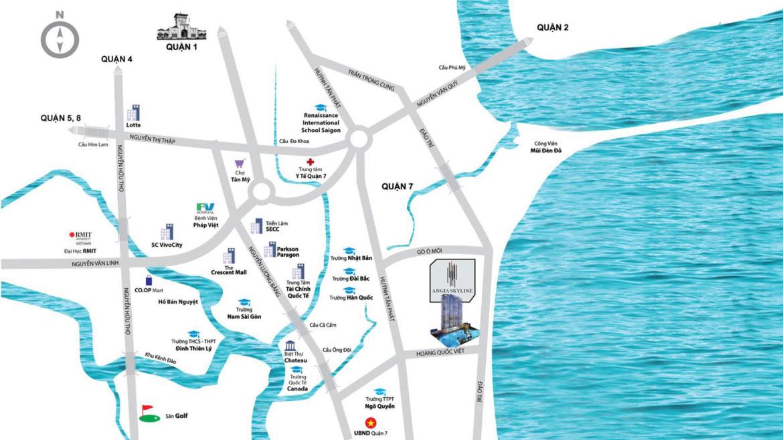 Vị trí địa chỉ dự án căn hộ chung cư An Gia Skyline Quận 7 - Liên hệ SGD BĐS KEEN LAND HOTLINE: 0949 893 893 - 0949 893 893 XEM NHÀ THỰC TẾ