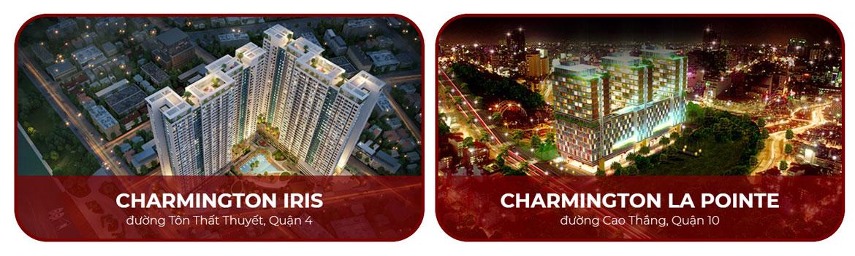 Dòng sản phẩm Charmington chủ đầu tư TTC LAND