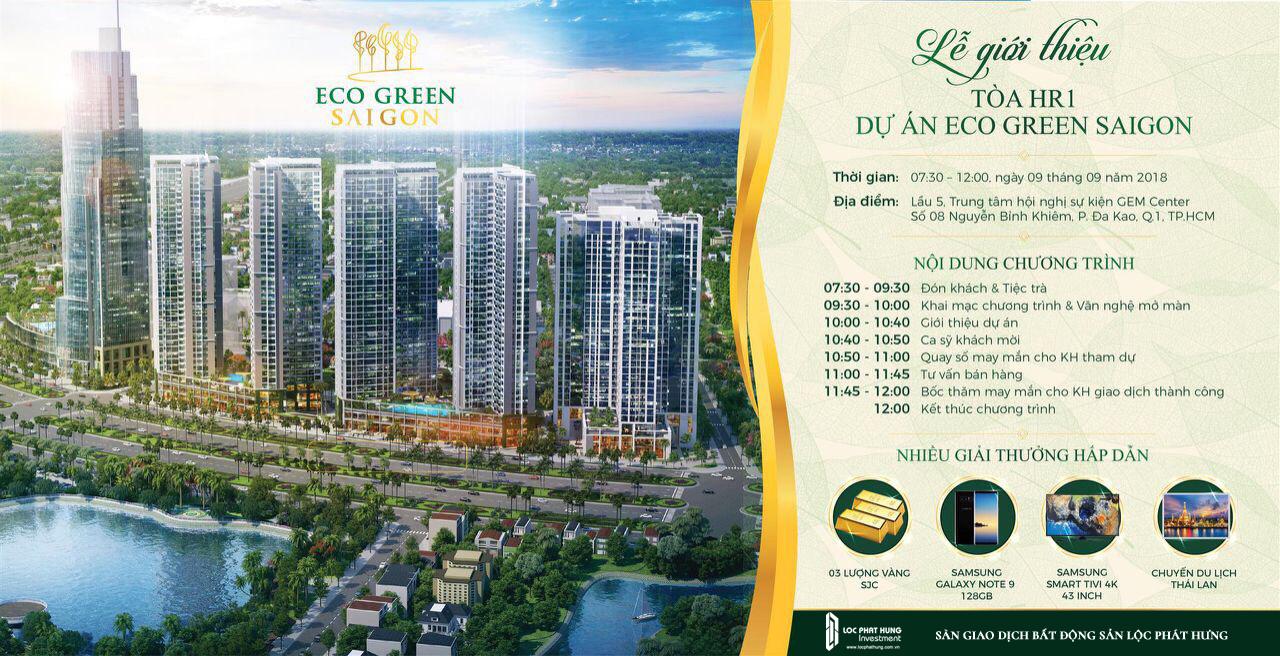 Lễ mở bán căn hộ Eco Green Sài Gòn Quận 7