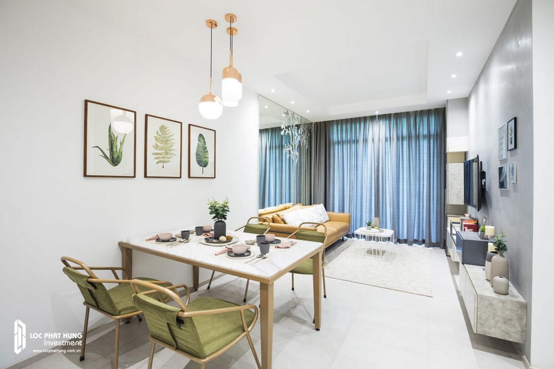 Nhà mẫu căn hộ 2 phòng ngủ - 2 vệ sinh diện tích 72m2 dự án căn hộ Charmington Iris Quận 4
