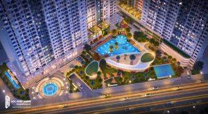 Charmington Iris giới thiệu tháp mới Iris Luxury 3 mặt hướng sông