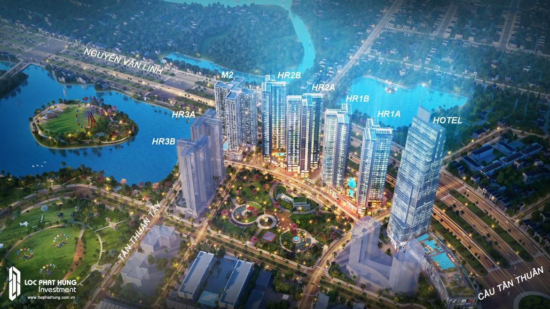 Eco Green Sài Gòn tọa lạc ngay trên mặt tiền Đại lộ Nguyễn Văn Linh, giao với đường Tân Thuận Tây, phường Tân Thuận Tây, Quận 7, Tp. Hồ Chí Minh, dự án Eco-Green Saigon được đánh giá là có vị trí đắc địa bậc nhất khu vực phía Nam Sài Gòn.