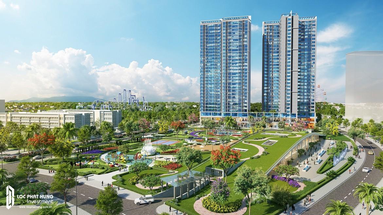 Công viên nội khu dự án Eco Green Sài Gòn Quận 7