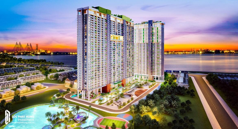 Phối cảnh tổng thể dự án căn hộ River Panorama Quận 7 chủ đầu tư An Gia Investment