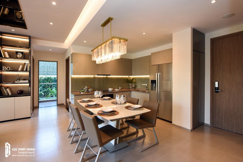 Nhà mẫu căn hộ River Panorama diện tích 114m2 thiết kế 3 phòng ngủ