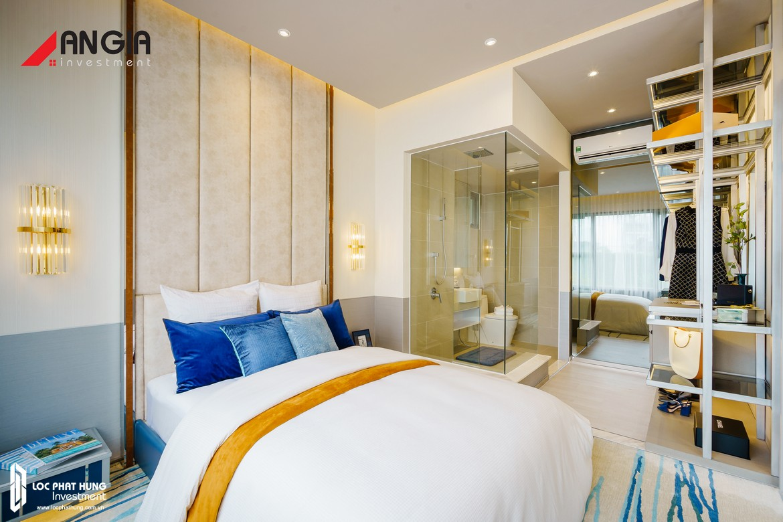 Nhà mẫu căn hộ Sky 89 diện tích 72m2 thiết kế 2 Phòng ngủ - 2 Vệ sinh