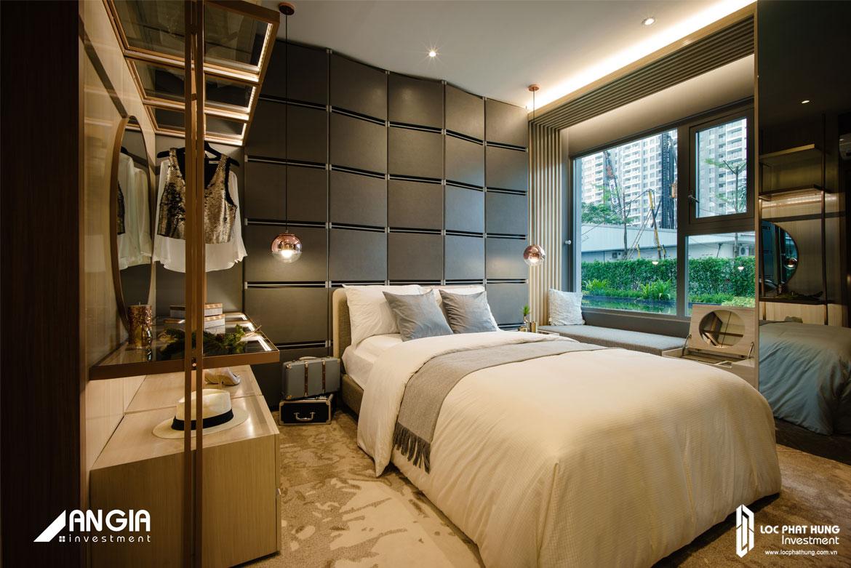 Nhà mẫu căn hộ Sky 89 diện tích 65m2 thiết kế 2 Phòng ngủ - 2 Vệ sinh