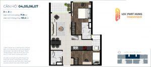 Bán căn hộ sky 89 view đẹp 2 phòng ngủ giá gốc chủ đầu tư
