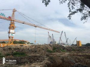 Tiến độ xây dựng căn hộ chung cư Eco Green Sài Gòn tháng 04/2018