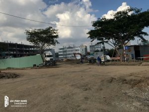 Tiến độ xây dựng căn hộ chung cư Eco Green Sài Gòn tháng 06/2018