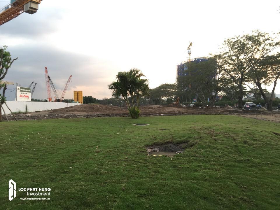 Tiến độ xây dựng căn hộ Eco Green Sài Gòn Tháng 09/2018