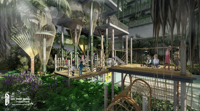 Tiện ích rừng phiêu lưu dự án căn hộ chung cư Infiniti Riviera Point Quận 7