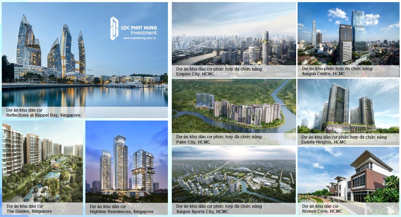 Các dự án thành công của CĐT Keppel Land