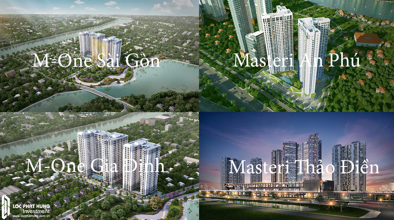 Các dự án của chủ đầu tư Masteri