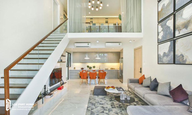 Nhà mẫu căn hộ 2 pn chung cư The Infiniti Riviera Point Quân 7 Đường Huỳnh Tấn Phát