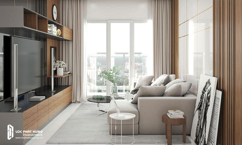 Nhà mẫu căn hộ 3 pn chung cư The Infiniti Riviera Point Quân 7 Đường Huỳnh Tấn Phát