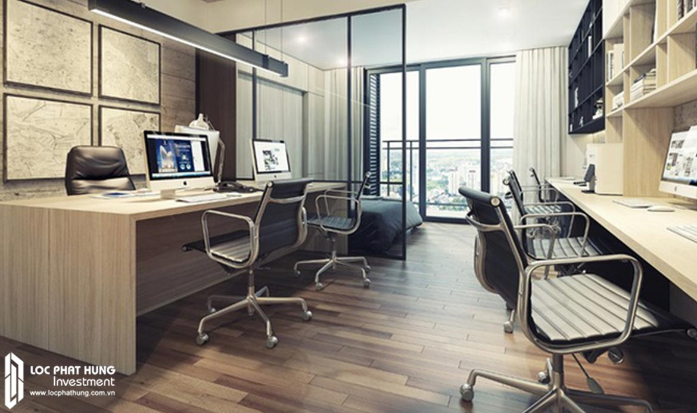 Nhà mẫu căn hộ Officetel Lancaster Lincoln Quận 4