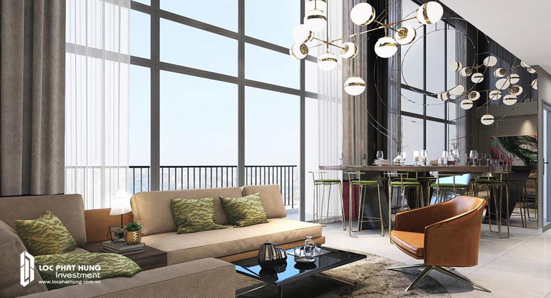 Nhà mẫu dự án căn hộ Infiniti Riviera Point Quận 7