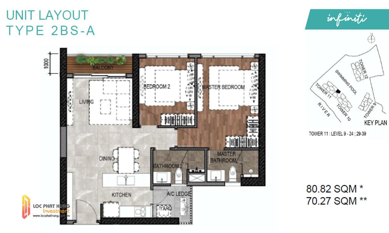 Thiết kế căn hộ dự án Infiniti riviera Point