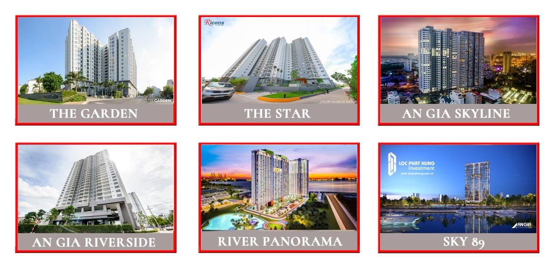 Một số dự án chủ đầu tư The A An Gia Investment đã và đang triển khai tính tới năm 2018