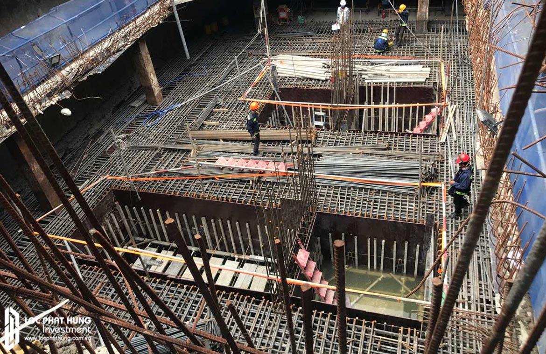 Tiến độ xây dựng 09/2018 dự án căn hộ chung cư Lancaster Lincoln Quận 4