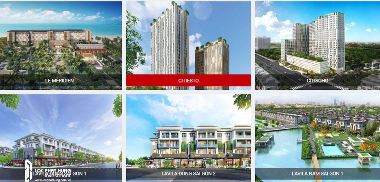 Các dự án thành công của Chủ đầu tư dự án căn hộ Citiesto Quận 2