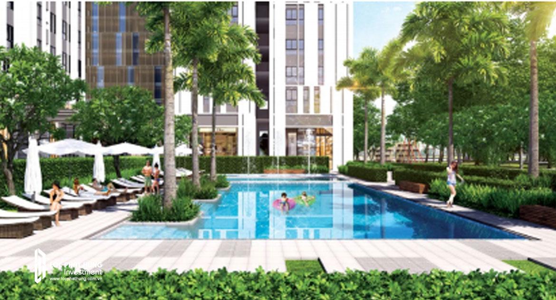 Tiện ích hồ bơi dự án căn hộ Citi Esto quận 2
