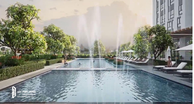 Tiện ích bể bơi dự án căn hộ Citiesto Quận 2