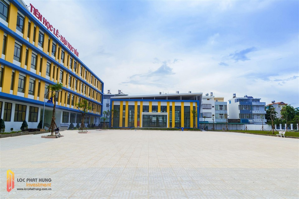 Trường tiểu học Kim Đồng tại dự án Eco Green Quận 7
