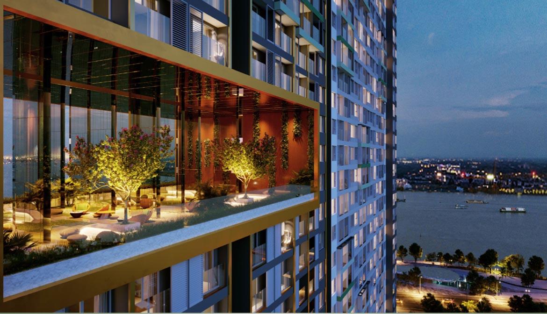Tầng Long Môn dự án căn hộ smartel The A quận 7 đường Hoàng Quốc Việt