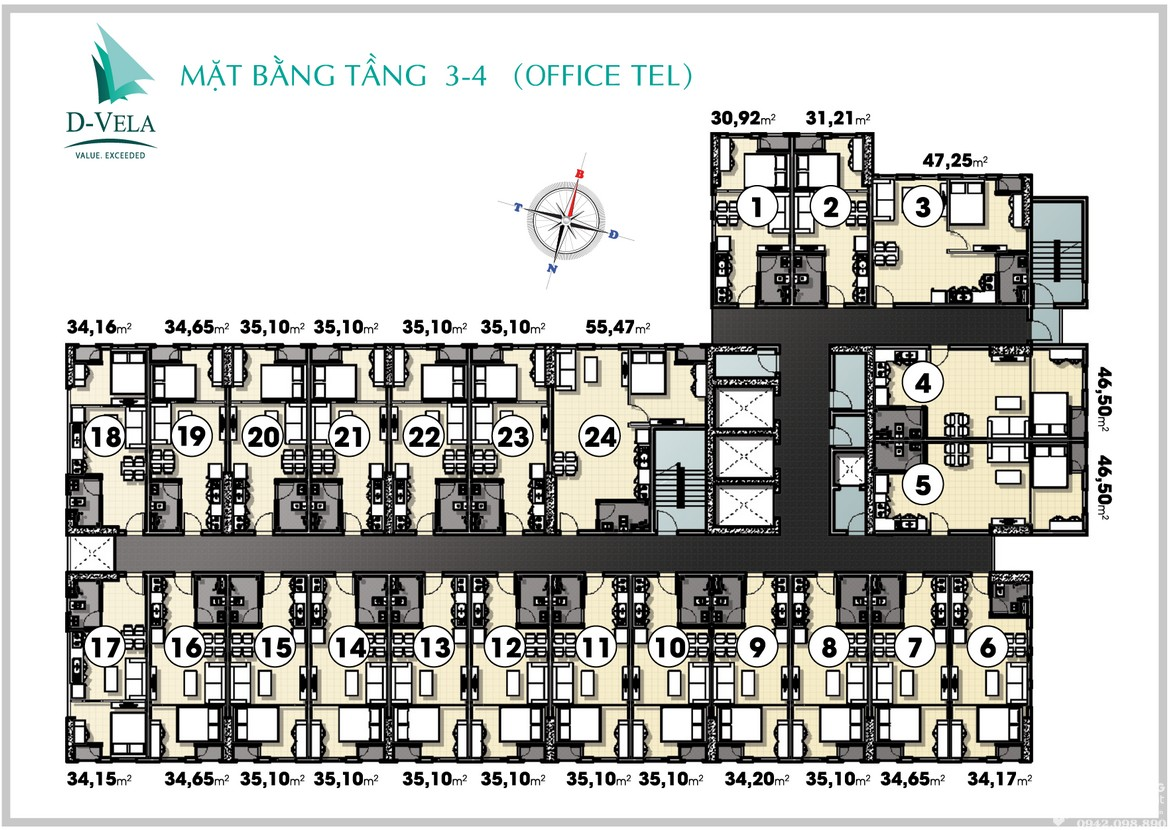 mat-bang-tang-03-04-officetel-chung-cu-DVELA-quan-7