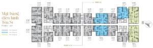 Thiết kế chi tiết tòa S1 căn hộ Sunshine City Sài Gòn Quận 7