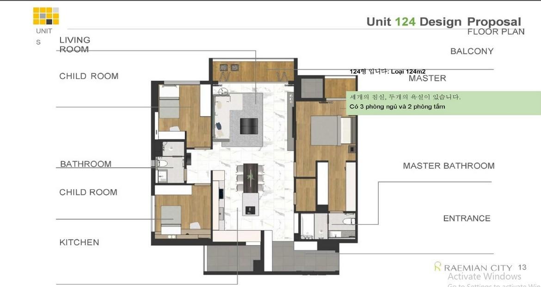 Thiết kế dự án căn hộ chung cư Laimian City Quận 2 Đường Lương Đình Của chủ đầu tư HDTC