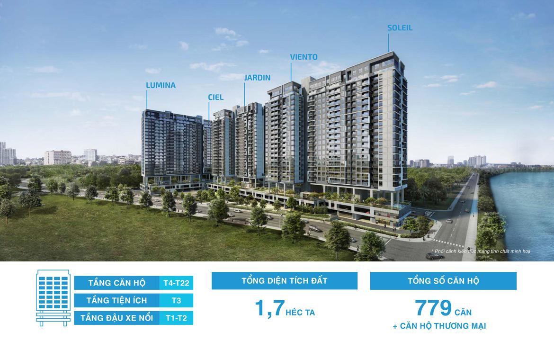 Mua bán cho thuê dự án căn hộ chung cư One Verandah Quận 2 Đường Bát Nàn chủ đầu tư Mapletree