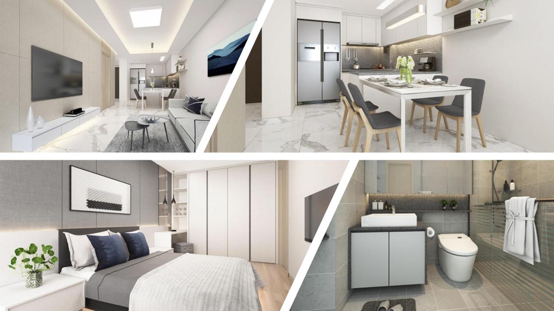 Nhà mẫu dự án căn hộ chung cư Laimian City Quận 2 Đường Lương Đình Của chủ đầu tư HDTC