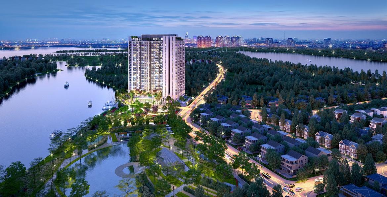 Mua bán cho thuê dự án căn hộ chung cư Thủ Thiêm Dragon Quận 2 Đường Quách Giai chủ đầu tư Thủ Thiêm Group