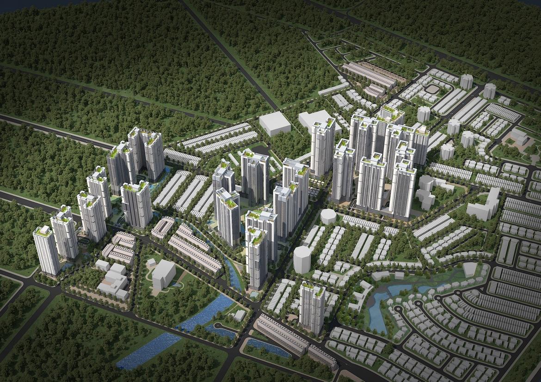 Mua bán cho thuê dự án căn hộ chung cư Laimian City Quận 2 Đường Lương Đình Của chủ đầu tư HDTC