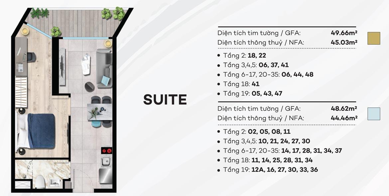 Thiết kế chi tiết căn hộ du lịch condotel The Sóng Vũng Tàu – Liên hệ 0942.0988.980 nhận báo giá căn này