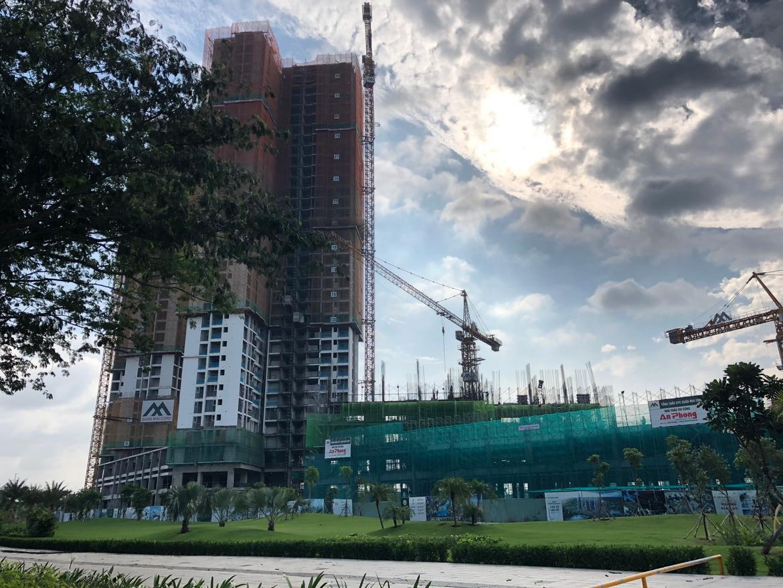 tiến độ eco green sài gòn dự án căn hộ chung cư Eco Green Sài Gòn Quận 7 Đường Nguyễn Văn Linh chủ đầu tư Xuân Mai