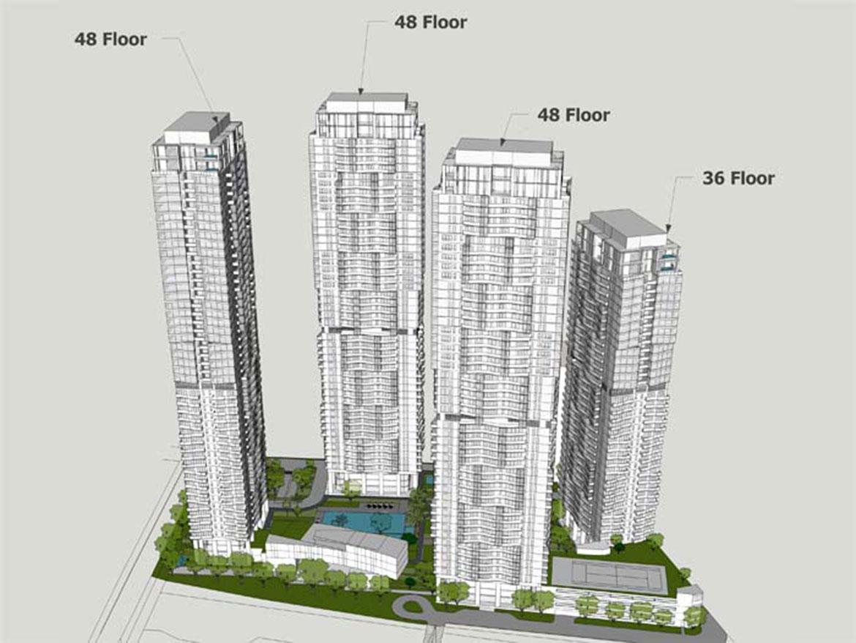 Mặt bằng dự án căn hộ chung cư Masteri Park Land Quận 2 Đường Xa lộ Hà Nội chủ đầu tư Thảo Điền Investment