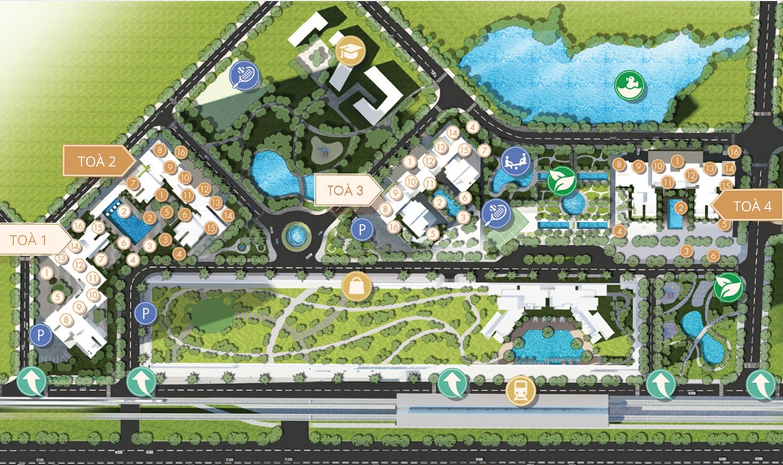 Mua bán cho thuê dự án căn hộ chung cư Masteri Thảo Điền Quận 2 Đường Xa lộ Hà Nội chủ đầu tư Thảo Điền Investment