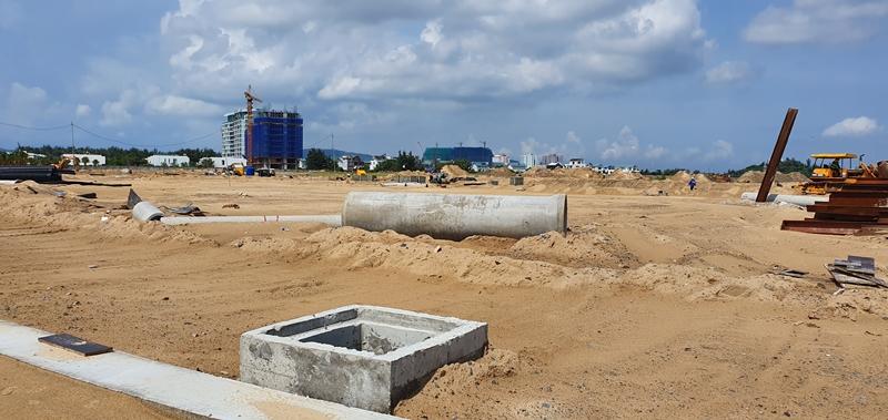 Tiến độ xây dựng dự án The Maris Vũng Tàu 10/2019 condotel the maris vung tau hinh anh thuc te 1 2
