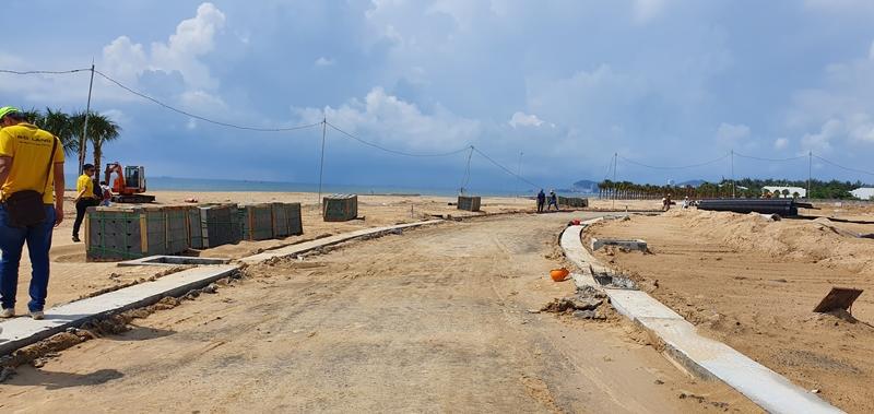 Tiến độ xây dựng dự án The Maris Vũng Tàu 10/2019 condotel the maris vung tau hinh anh thuc te 3 2