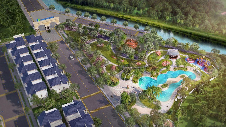Tiện ích dự án Verosa Park Khang Điền Quận 9 - Công viên trung tâm