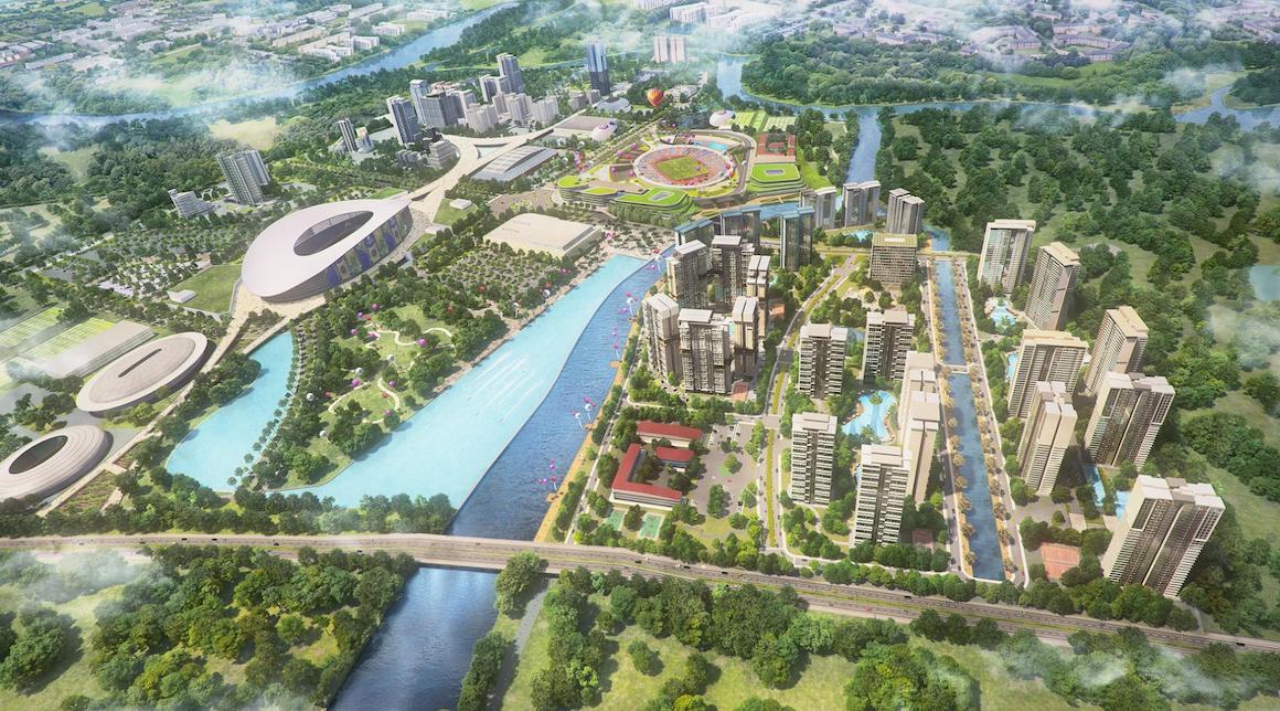 Quy hoạch khu dân cư Bắc Rạch Chiếc liền kề dự án căn hộ chung cư D'lusso Quận 2. Liên hệ: 0949 893 893 xem thực tế dự án