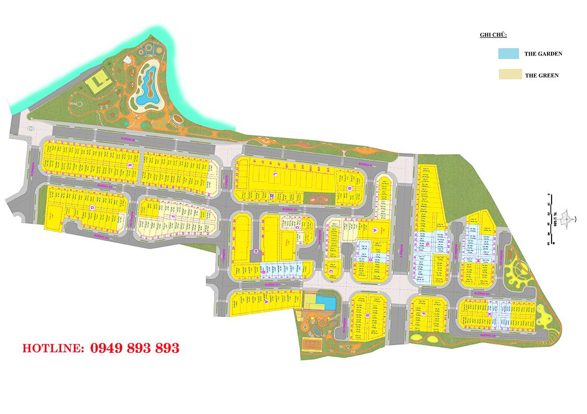 Mặt bằng dự án nhà phố Verosa Park Khang Điền Quận 9 mở bán trong giai đoạn 1. Liên hệ 0949 893 893 xem thực tế dự án