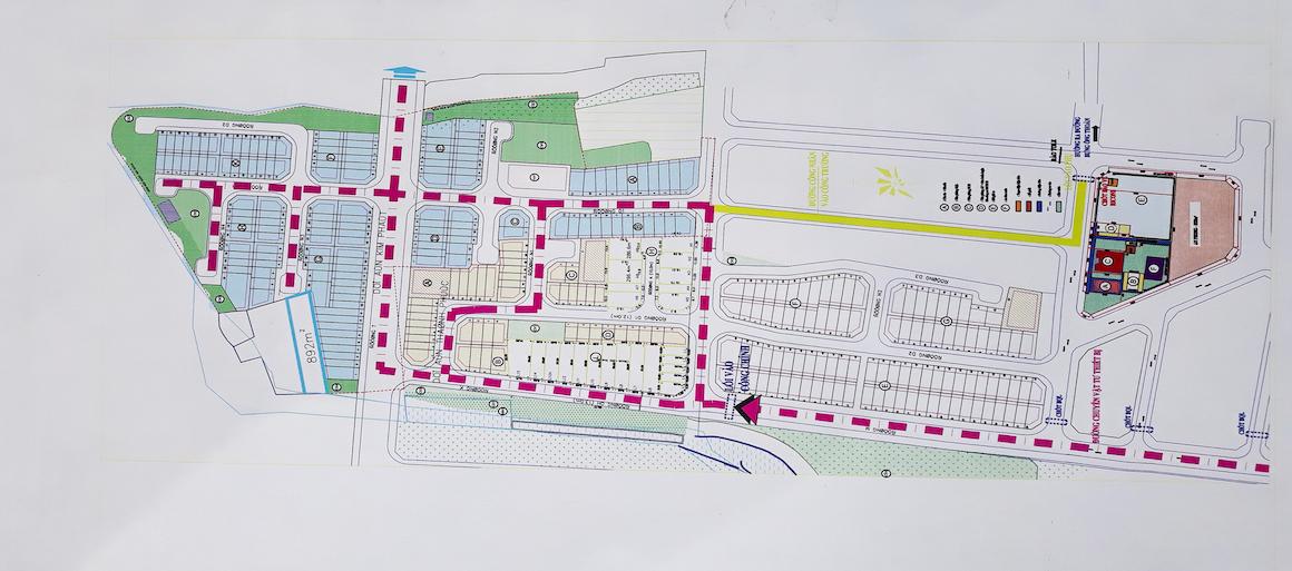 Mặt bằng dự án Verosa Park Khang Điền Quận 9.