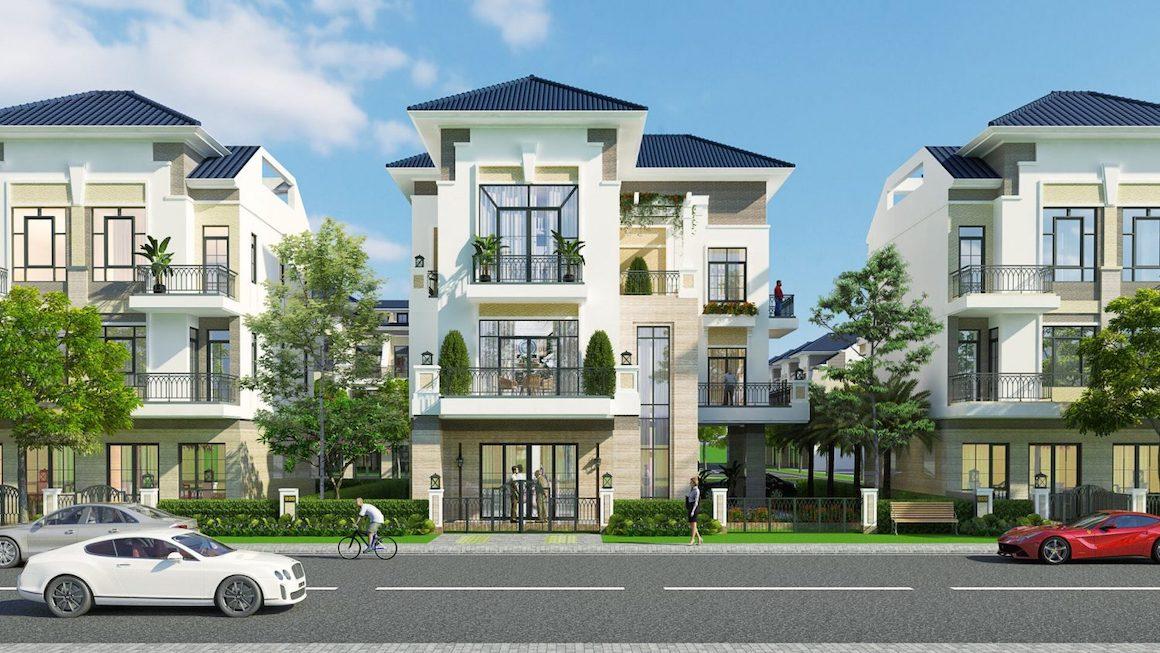 Thiết kế nhà phố Verosa Park Khang Điền Quận 9 - Mẫu biệt thự