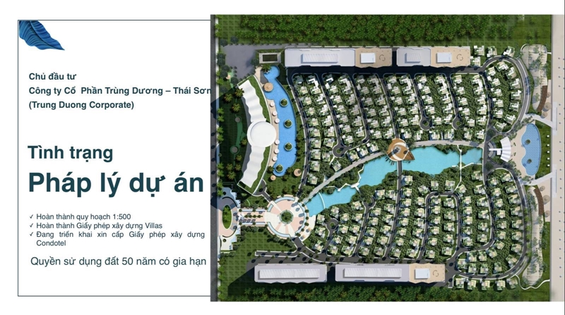 Quy hoạch 1/500 dự án biệt thự và condotel The Maris Vũng Tàu đã được duyệt chưa? phap ly the maris vung tau 1